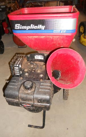 Simplicity 8 HP Chipper Shredder