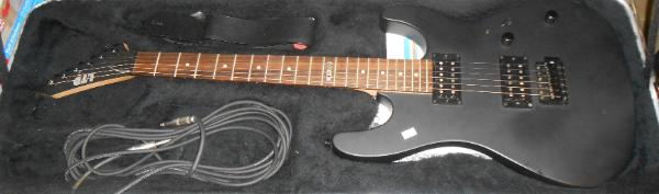 LTD Electric Guitar with case