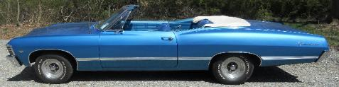 67 Chevy Impala For Auction