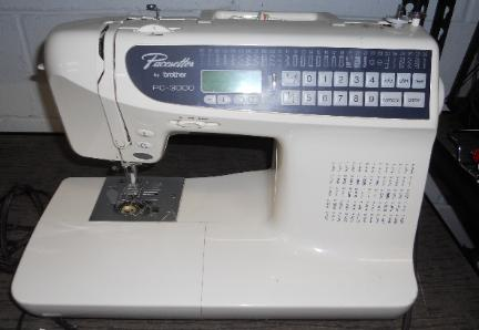 Pacesetter Model PC-3000 Sewing Machine by Brother