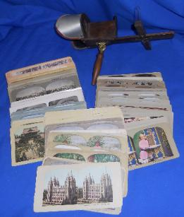 stereoview and cards