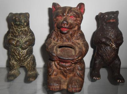 Cast iron bear banks