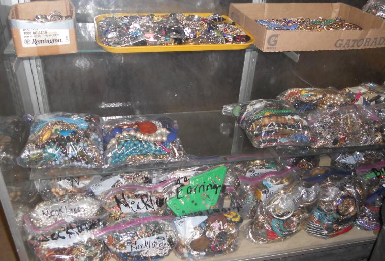 Costume jewelry: necklaces, bracelets, bangles, rings, earrings, pins, brooches and more