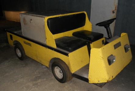 EZ GO Industrial 875 Electric Cart