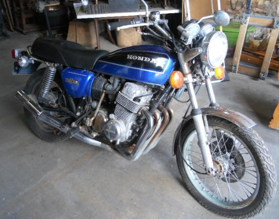 1978 Honda Motorcycle has title no key