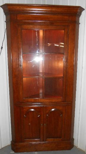 for Auction Pennsylvania House Corner cabinet